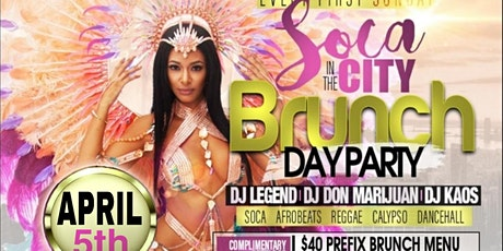 SOCA IN THE CITY BRUNCH & DAY PARTY #ATasteOfNikki tickets