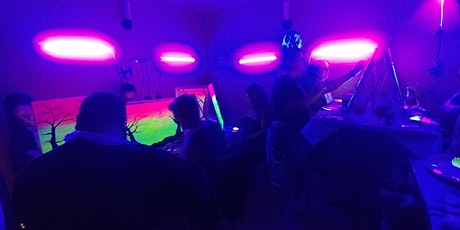 Glow in the Dark Painting at Jack Rabbit Brewing Co. with Creatively Carrie tickets