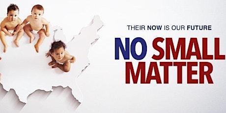 No Small Matter documentary tickets