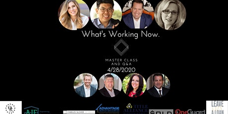 MasterClass: What's Working Now Master Class and Q&A tickets