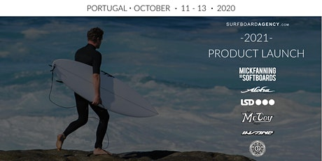 SURFBOARD AGENCY/MF SOFTBOARDS LAUNCH  - PORTUGAL -  OCT 2020 bilhetes