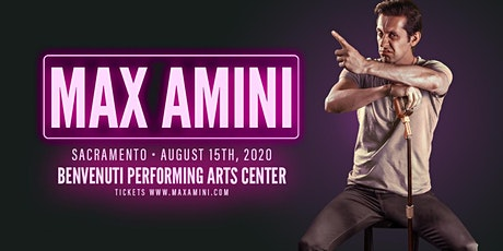 Max Amini returns to Sacramento tickets