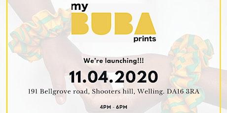 myBUBAprints LAUNCH tickets