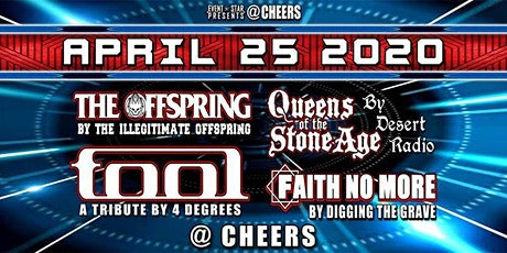 Tool / Offspring / Faith No More / Queens of the StoneAge /Tribs tickets