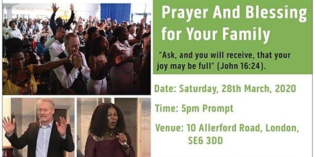 (Cancelled) Prayer and Blessing for Your Family tickets