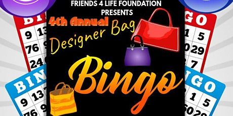 F4L~ Designer Bag Bingo tickets