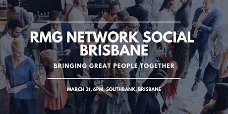 RMG Network Social - Brisbane - Virtual tickets