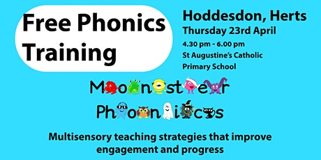 Free Phonics Training in Hoddesdon, Hertfordshire tickets