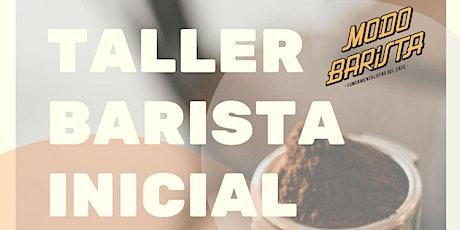Taller Barista Inicial tickets