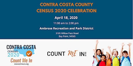 Contra Costa County Census 2020 Celebration tickets