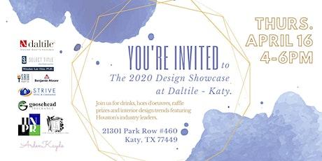 2020 Design Showcase tickets