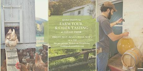 Oakley Farm Tour & Cider Tasting tickets