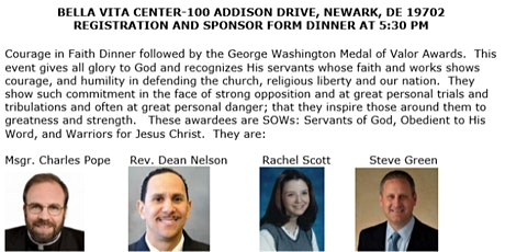 For God and Country Awards tickets
