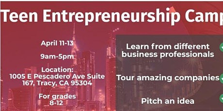 Tracy Spring Entrepreneurship and Business Camp tickets