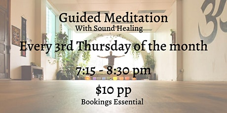 Guided Meditation with Sound Healing tickets
