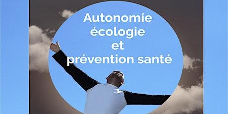 Autonomie, écologie et prévention santé - Module de formation à la carte billets