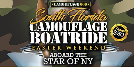 SOUTH FLORIDA CAMOUFLAGE BOATRIDE  tickets