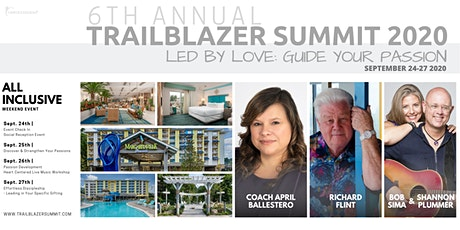 """TRAILBLAZER SUMMIT 2020 - """"LED BY LOVE - Guide Your Passion tickets"""