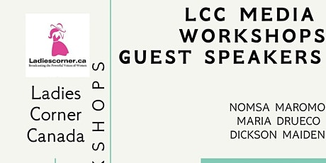 LCC MEDIA WORKSHOPS tickets