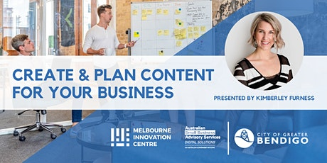 Content Creation: How to Create and Plan Content for your Business - Greater Bendigo tickets