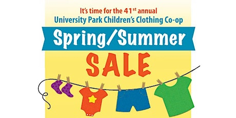 41st Annual Spring UP Children's Clothing Co-Op Sale tickets