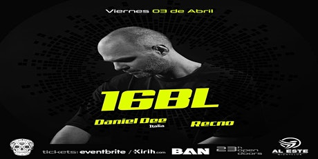 16bl - Daniel Dee entradas