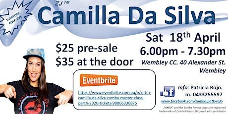 ZJ TM Camilla Da Silva Zumba Master Class, Perth 2020. tickets