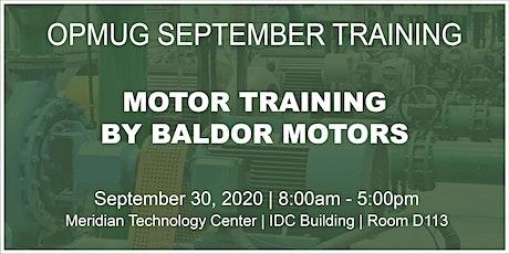 Motor Training by Baldor Motors tickets