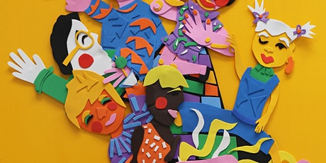 CREATE with Paper Collage - School Holidays - Newcastle Library tickets