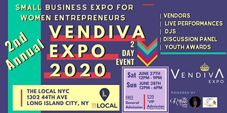VenDivA Expo 2020 tickets