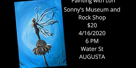 Postponed - 4/16 - Sonny's Museum And Rock Shop Paint Night tickets