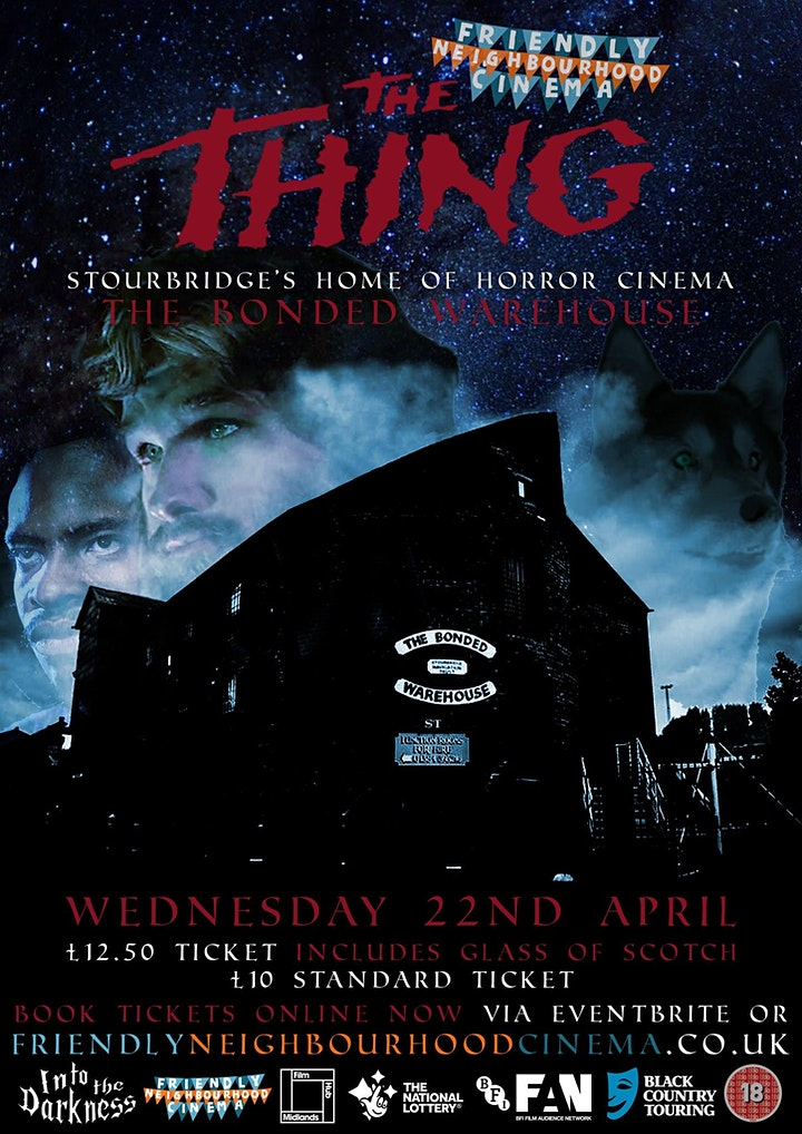 The Thing - Friendly Neighbourhood Cinema at the Haunted Bonded Warehouse image