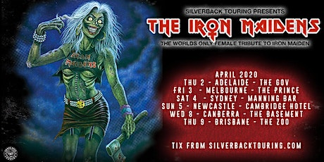 The Iron Maidens - She Wolf & Envenomed support ticket tickets