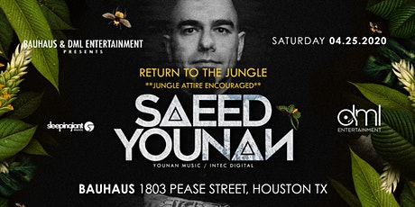 Saeed Younan: Return to the Jungle tickets