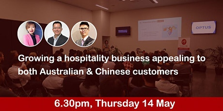 Growing a hospitality business appealing to both Australian & Chinese tickets