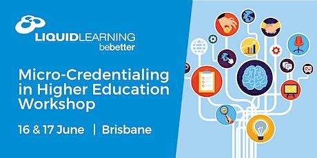 Micro-Credentialing in Higher Education Workshop Brisbane tickets