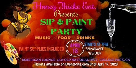 Honey Thicke Entertainment Presents Sip Me Up Sip and Paint. tickets