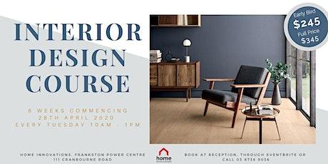 6 Week Interior Design Course tickets