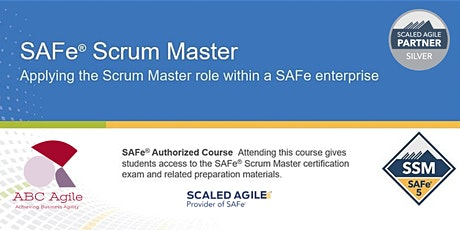 """""""SAFe Scrum Master"""" con certificación como SSM - San Jose - Juan Gilberto García López tickets"""