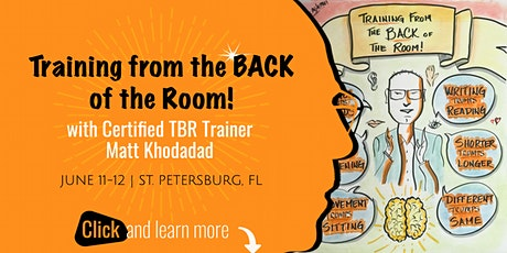 Training from the BACK of the Room - St. Petersburg, FL tickets