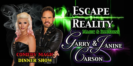 'Escape Reality' Branson Magic Dinner Show with Garry & Janine Carson tickets