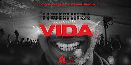 XXXII RETIRO DE EXPERIÊNCIA DE ORAÇÃO boletos