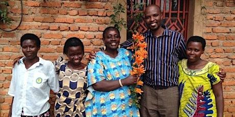 INSPIRE!africa welcomes Sam Munderere from Survivors Fund in Rwanda tickets