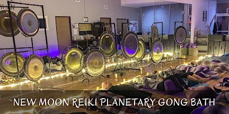 New Moon Reiki Planetary Gong Bath tickets