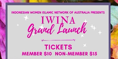 IWINA Launch Day tickets