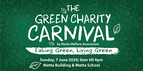 The Green Charity Carnival 2020 tickets