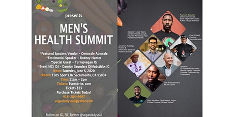 Vegan Lady Soul presents Men's Health Summit tickets