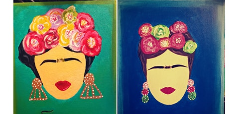Mothers day ' Frida' Paint, Eat, and Sip tickets
