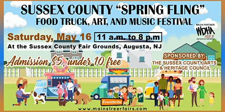Sussex County 'Spring Fling' Food Truck, Art, and Music Festival tickets