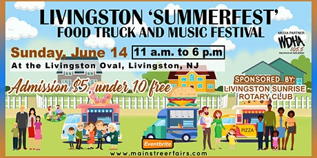 Livingston 'Summerfest' Food Truck and Music Festival tickets